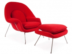 Image of the design lounge Womb chair - Red