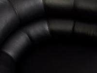Image of the design lounge Bibendum Armchair - Black