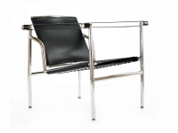 Image of the design lounge COSY1 chair - Black