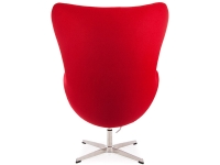 Image of the design lounge Egg Chair Arne COSYSEN - Red