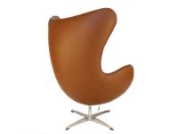 Image of the design lounge Egg Chair  Arne Jacobsen - Caramel