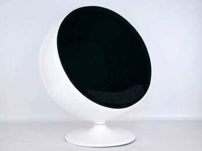 Image of the design lounge Ball Chair Eero Aarnio - Black