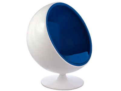 Image of the design lounge Ball chair Eero Aarnio - Blue