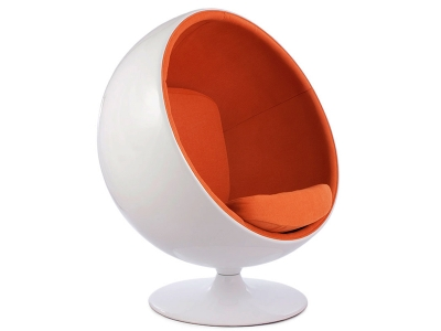 Image of the design lounge Ball chair Eero Aarnio - Orange