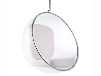 Image of the design lounge Bubble Chair Eero Aarnio - White