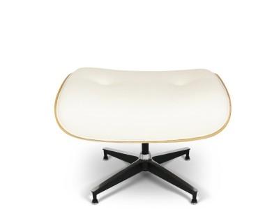Image of the design lounge Eames Lounge Ottoman - Light walnut