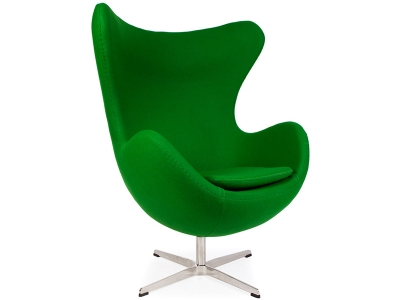 Image of the design lounge Egg Chair Arne Jacobsen - Emerald