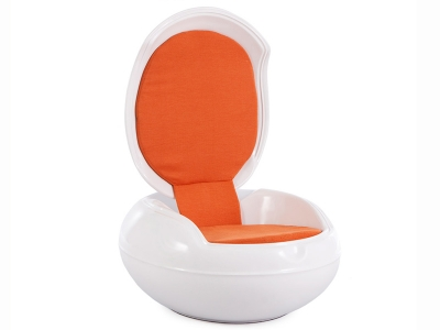 Image of the design lounge Garden Egg Chair - Orange