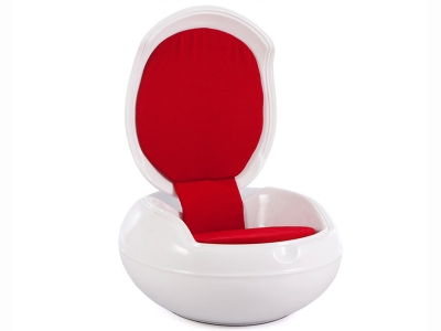 Image of the design lounge Garden Egg Chair - Red
