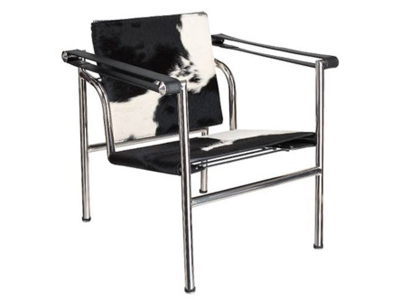 Lc chair le corbusier white