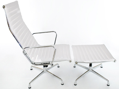 Image of the design lounge Lounge Chair EA124 - White
