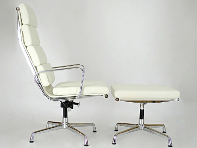 Image of the design lounge Lounge Chair EA222 - White