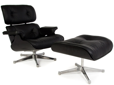 Image of the design lounge Special Edition Eames Lounge - Black
