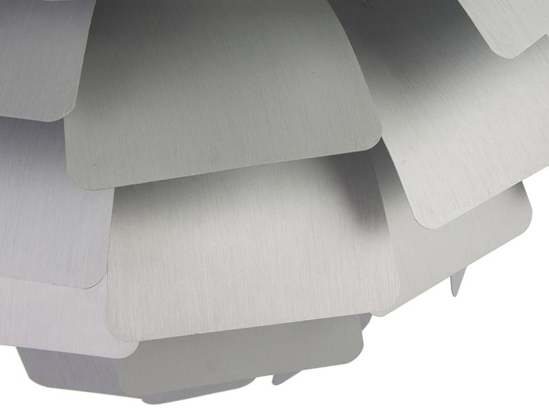 Bild der Lampe Design Hängelampe Artischocke L - Silber
