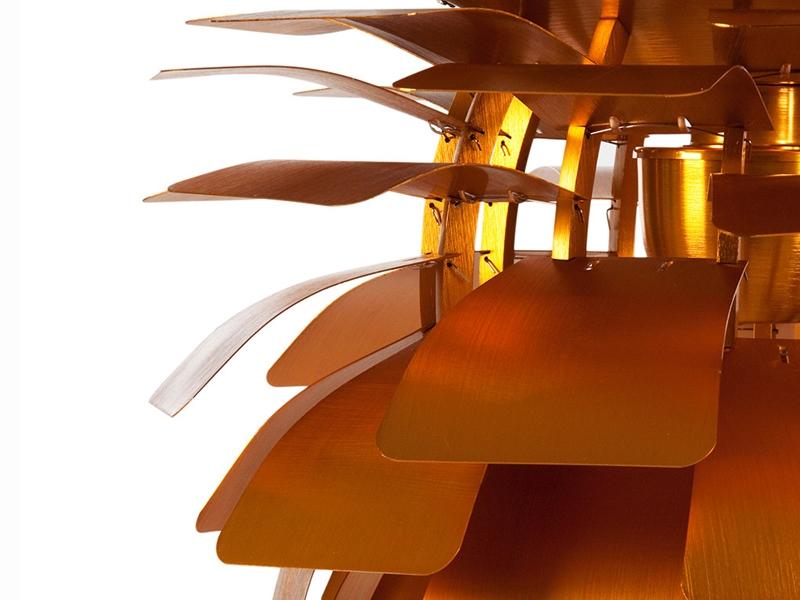 h ngelampe artischocke m gold. Black Bedroom Furniture Sets. Home Design Ideas