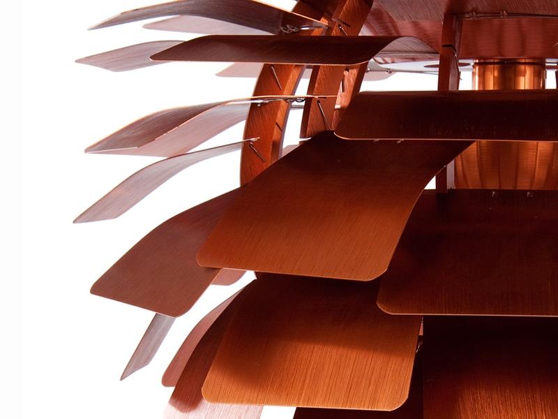 h ngelampe artischocke m kupfer. Black Bedroom Furniture Sets. Home Design Ideas