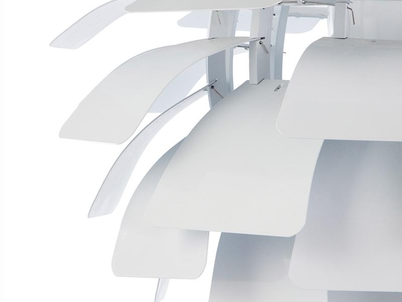 Bild der Lampe Design Hängelampe Artischocke M - Weiß