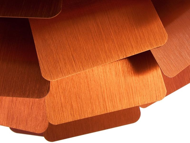 h ngelampe artischocke s kupfer. Black Bedroom Furniture Sets. Home Design Ideas