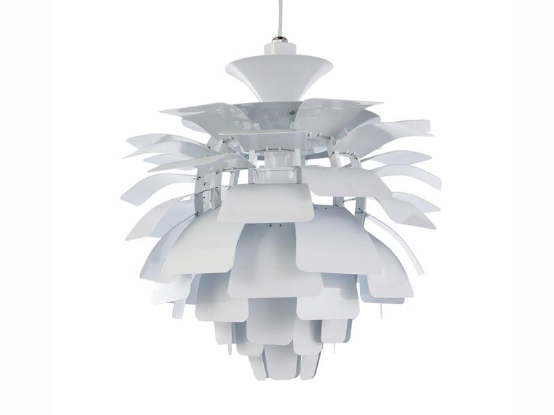 Bild der Lampe Design Hängelampe Artischocke S - Weiß