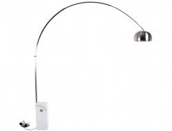 Bild der Lampe Design Arco Stehleuchte - Weißer Marmor