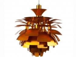 Bild der Lampe Design Hängelampe Artischocke M - Gold