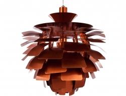 Bild der Lampe Design Hängelampe Artischocke M - Kupfer