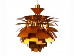 Bild der Lampe Design Hängelampe Artischocke S - Gold
