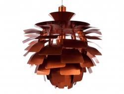 Bild der Lampe Design Hängelampe Artischocke S - Kupfer