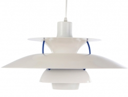 Bild der Lampe Design Hängelampe PH5 - Weiß