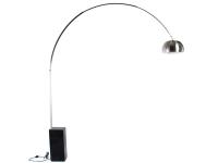 Bild der Lampe Design Arco Stehleuchte - Schwarzer Marmor