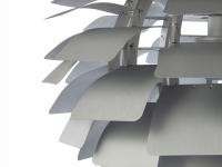 Bild der Lampe Design Hängelampe Artischocke S - Silber