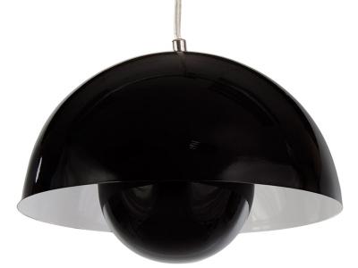 Bild der Lampe Design Hängelampe Panton Flowerpot - Schwarz