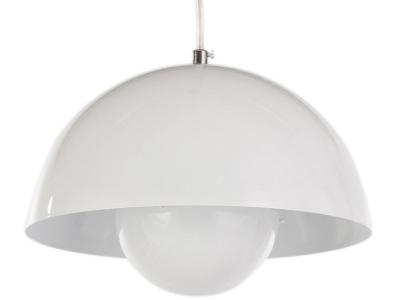 Bild der Lampe Design Hängelampe Panton Flowerpot - Weiß