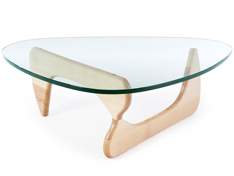 Bild Designer-Möbel Couchtisch Noguchi - Holz hell
