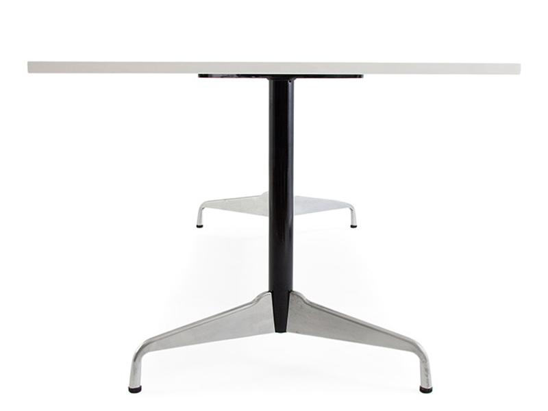 Eames contract tisch wei for Eames tisch nachbau