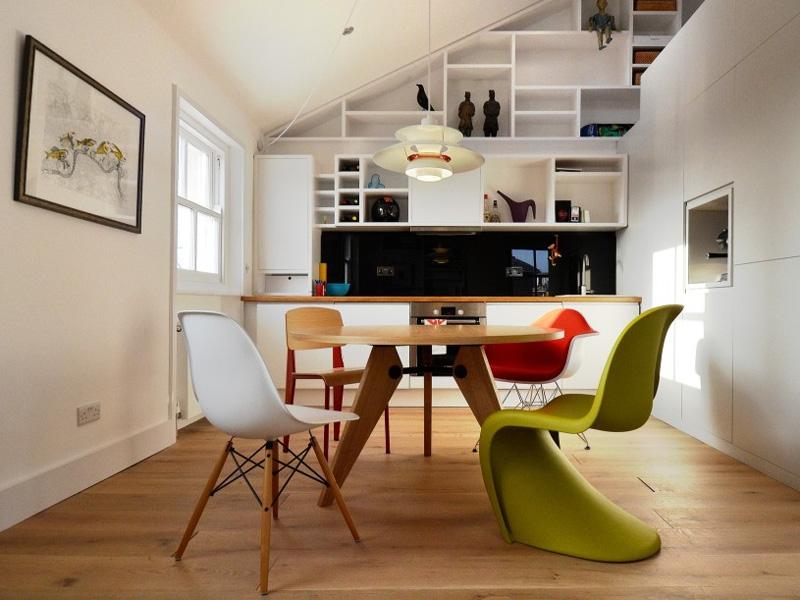 Bild Designer-Möbel Eß -Tisch Prouvé rund