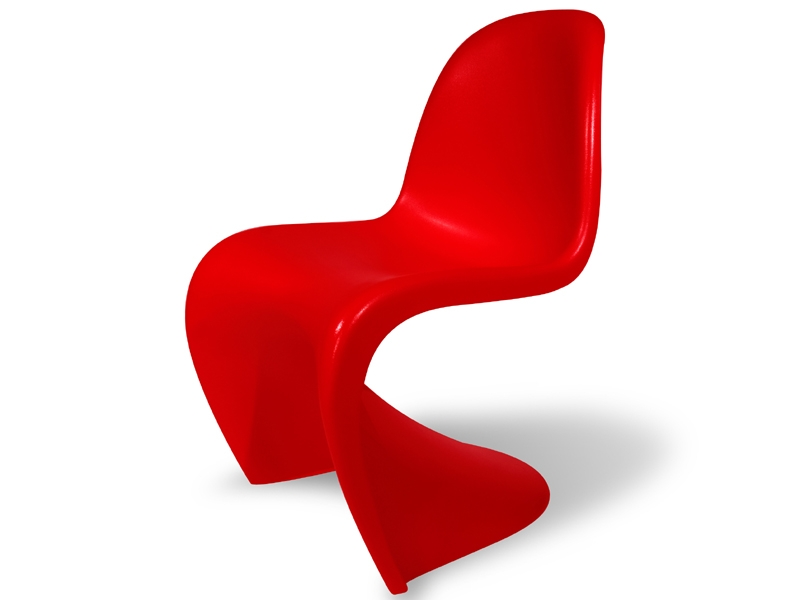 Bild Designer-Möbel Eßtisch Parabol mit 4 Stühlen