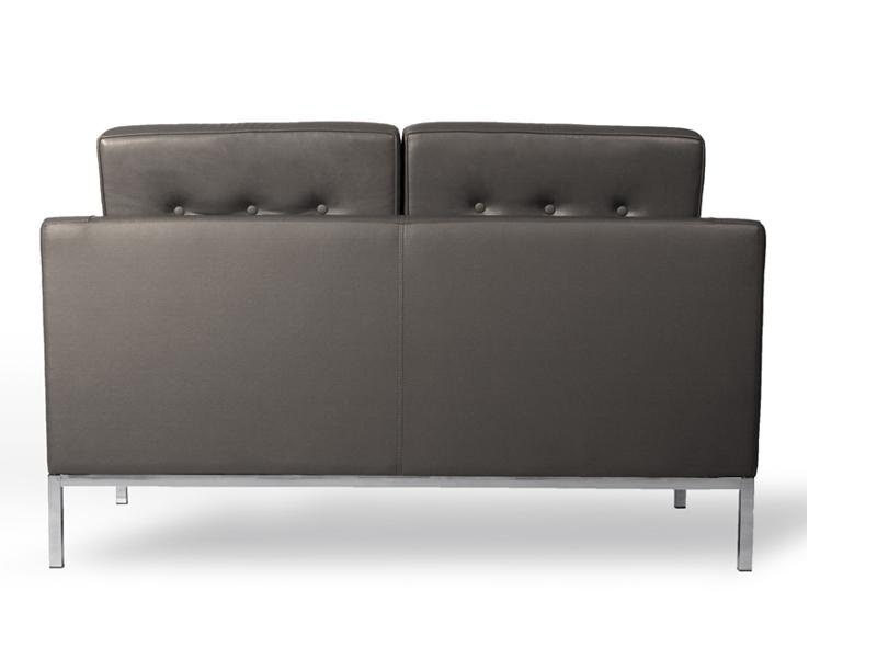 Bild Designer-Möbel Knoll Lounge 2 Sitzer - Grau