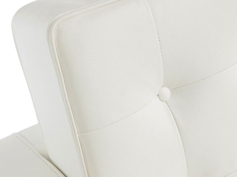 Bild Designer-Möbel Knoll Lounge 2-Sitzer - Weiß