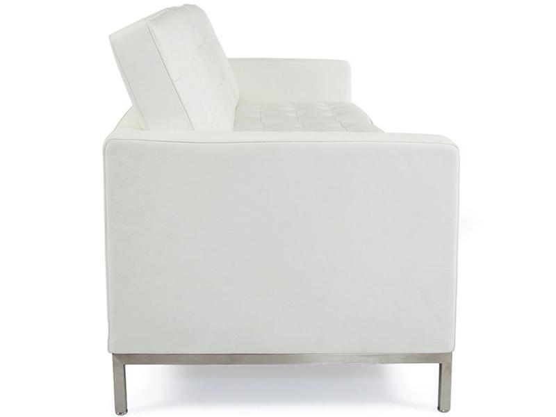 Bild Designer-Möbel Knoll Lounge 3 Sitzer - Weiß
