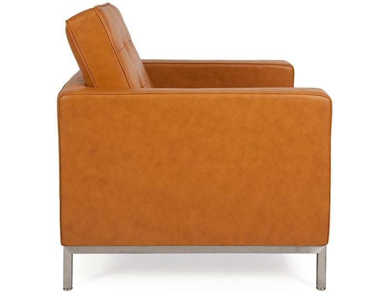 Bild Designer-Möbel Knoll Lounge-Sessel - Karamell