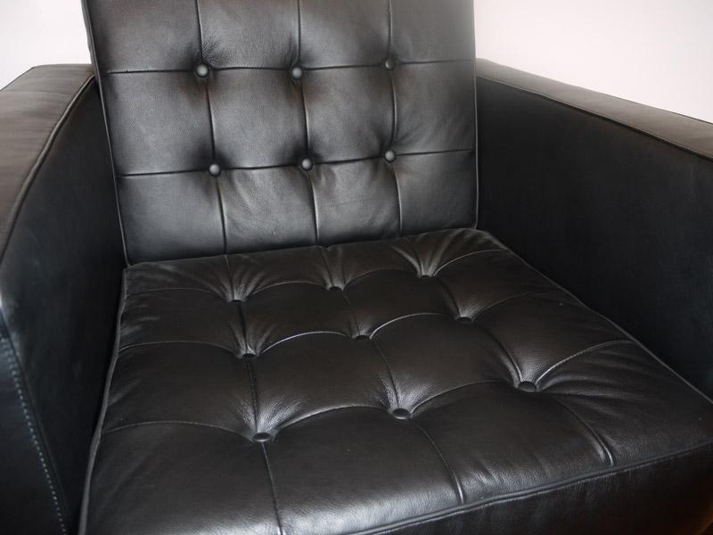 Bild Designer-Möbel Knoll Lounge Sessel-Schwarz