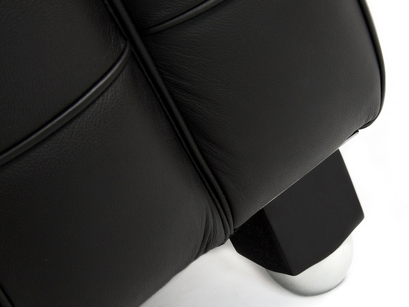 Bild Designer-Möbel Kubus Sessel - Schwarz