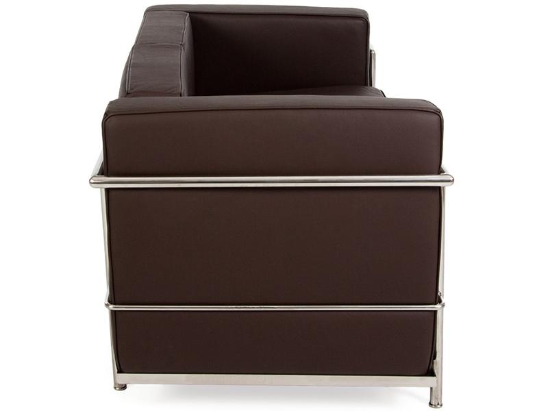 Bild Designer-Möbel LC2 2-Sitzer Le Corbusier - Braun