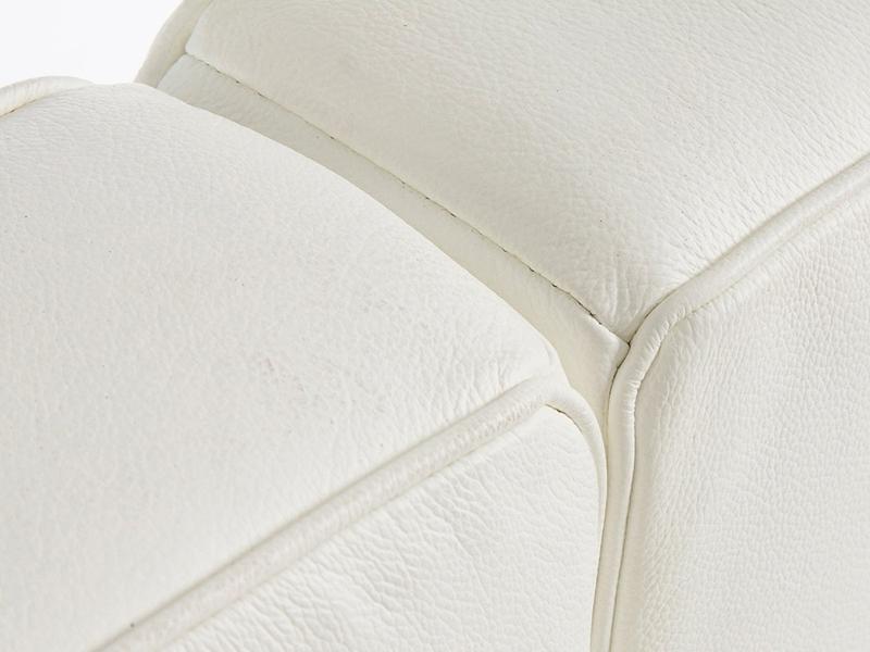 Bild Designer-Möbel LC2 3-Sitzer Le Corbusier - Weiß