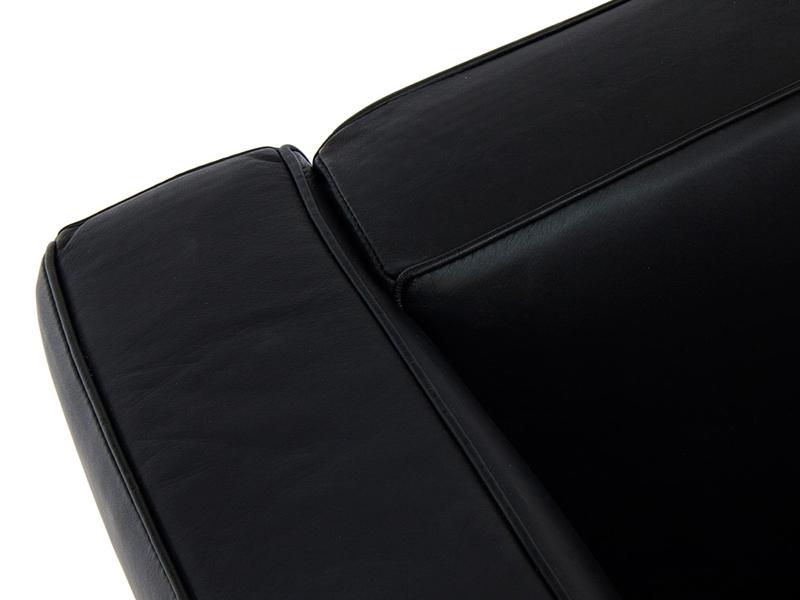 Bild Designer-Möbel LC2 Sessel Le Corbusier - Schwarz