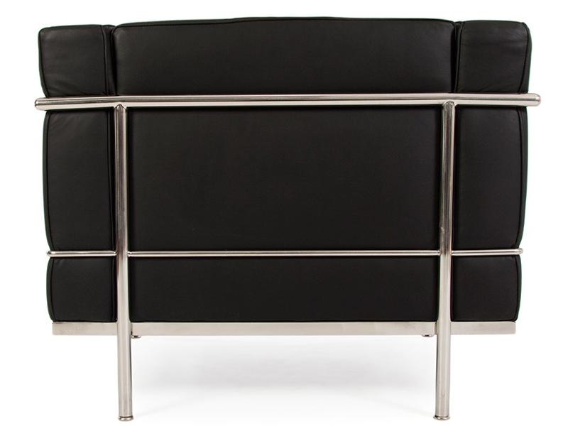 Bild Designer-Möbel LC3 Sessel Breit Le Corbusier-Schwarz