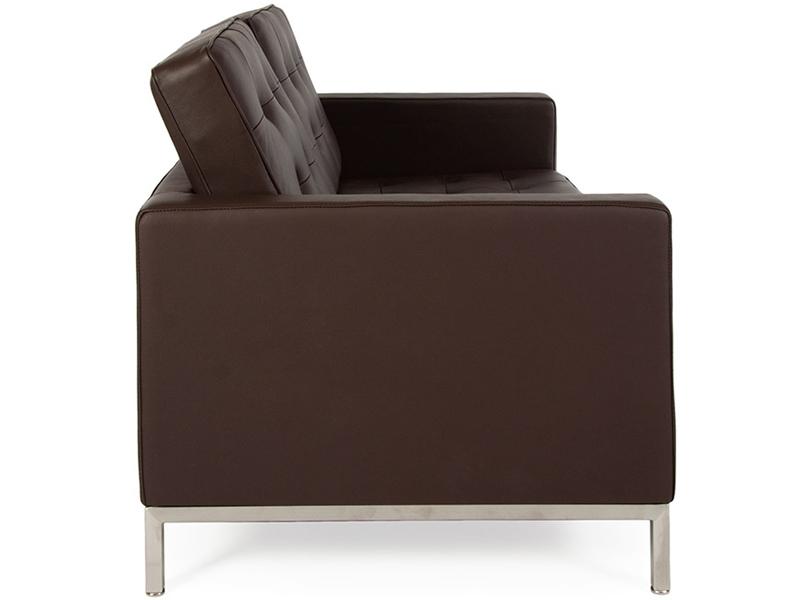 Bild Designer-Möbel Lounge Knoll 2-Sitzer - Braun
