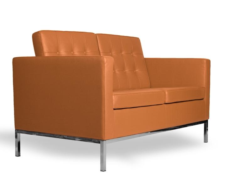 lounge knoll 2 sitzer karamell. Black Bedroom Furniture Sets. Home Design Ideas