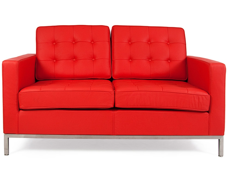 Bild Designer-Möbel Lounge Knoll 2 Sitzer - Rot